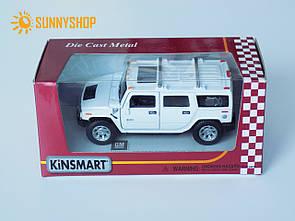 Металева машинка Kinsmart Hummer KT5337W
