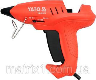 Пістолет клейовий професійний під клей 11 мм (3 стрижня в комплекті), 35 (400) Вт YATO