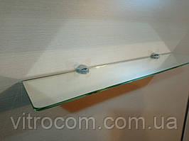 Полку 4 мм скляна дзеркальна 50х10 см