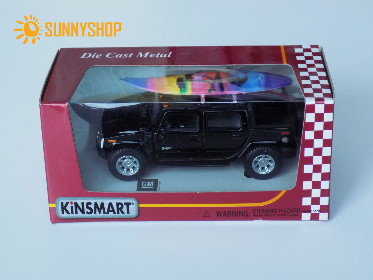 Металева машинка Kinsmart Hummer KT5097WS