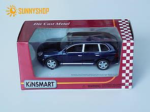 Металлическая машинка Kinsmart Porsche Cayenne KT5075W