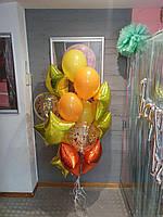 """Готовый набор из воздушных шаров """"Скоро лето"""" Композиция из 14 шаров"""
