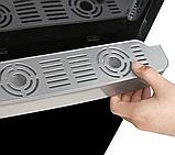 Кулер для води Lexical LWD-6002 настільний компресорний охолодження/нагрів 550W/90W чорний, фото 4
