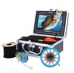Видеоудочка Eyoyo Fish-PRO DVR подводная видеокамера запись видео кабель 30 м