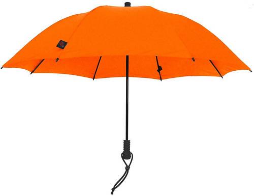 Яркий механический зонт-трость EuroSCHIRM Swing Liteflex W2L6OR/SU17414 оранжевый