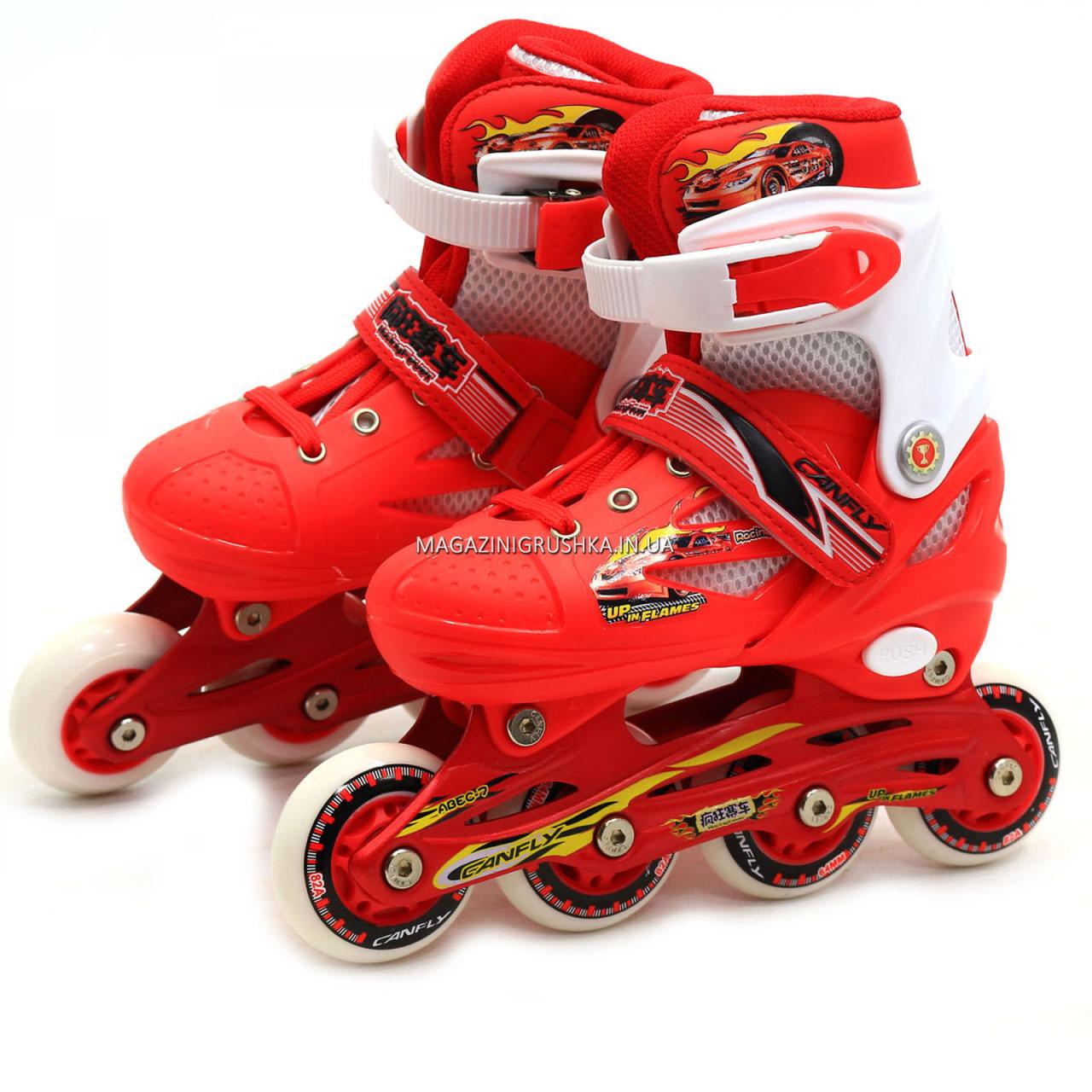 Роликовые коньки Shantou ролики р. 30-33 (RS17007)