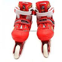 Роликовые коньки Shantou ролики р. 30-33 (RS17007), фото 2
