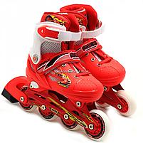 Роликовые коньки Shantou ролики р. 30-33 (RS17007), фото 3