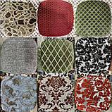 Чехлы накидки на стульчики и табуретки | На размер табуретки от 30 до 34см. Высокого качества, полноразмерные., фото 6
