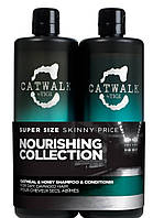 Шампуни и кондиционеры восстанавливает волосы TIGI Catwalk Oatmeal and Shampoo 750мл and Conditioner 750мл