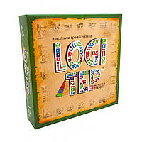 Настольная развлекательная игра Strateg Logi tep на украинском 30269