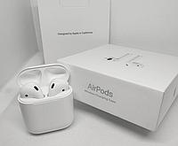 Беспроводные наушники Apple AirPods 2 гарнитура с кейсом для зарядки