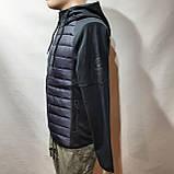 Чоловіча кофта весняна з капішоном в стилі Adidas Адідас репліка, фото 3