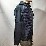 Чоловіча кофта весняна з капішоном в стилі Adidas Адідас репліка, фото 4