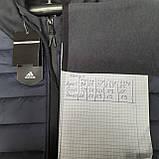 Чоловіча кофта весняна з капішоном в стилі Adidas Адідас репліка, фото 10