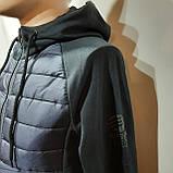 Чоловіча кофта весняна з капішоном в стилі Adidas Адідас репліка, фото 7