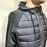 Чоловіча кофта весняна з капішоном в стилі Adidas Адідас репліка, фото 2