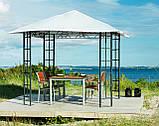 Тканинний павільйон (шатро) дах 3х3м білий (сталевий каркас + вологовідштовхувальний), фото 2