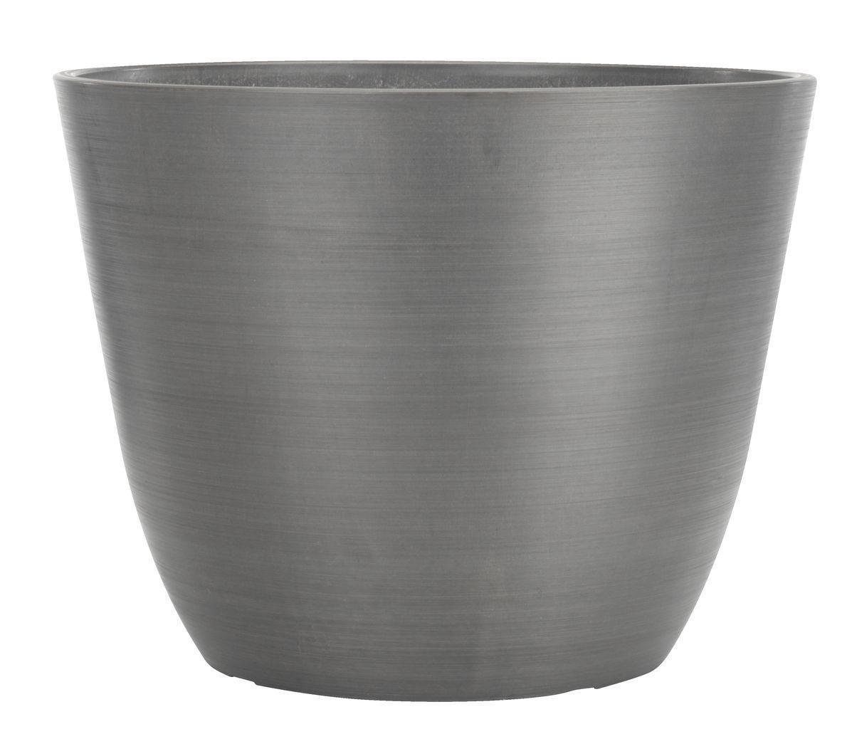Горщик для рослин (штучний камінь) висота 40 см, сірий