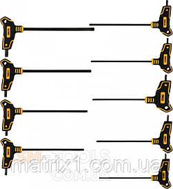 Набір ключів TORX Т образних Т10-T50 100-200 ММ 9 шт VOREL