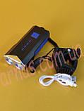 Ліхтар велосипедний з сигналом LY-22 акумуляторний, фото 3