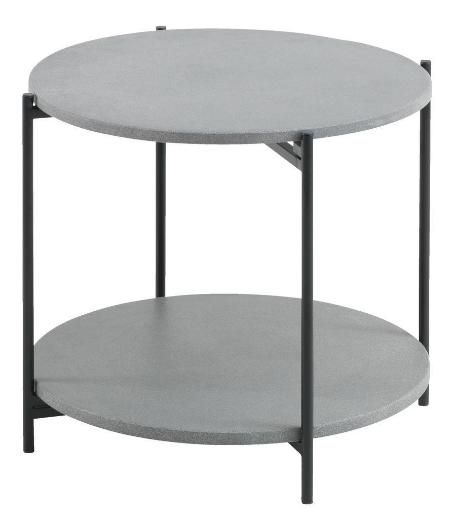 Лаунж столик круглый диаметр 50см