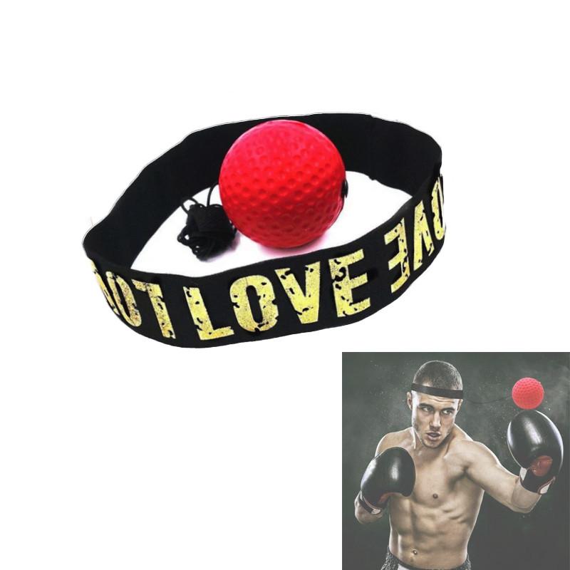 Тренажер мяч для бокса Fight Ball Файт Болл для развития реакции