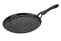 Блинная сковорода Edenberg 24 см с антипригарным тефлоновым покрытием. Сковорода для блинчиков EB-3383