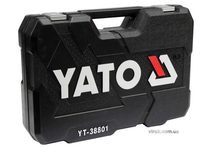 """Набір інструментів YATO 1/4"""" 3/8"""" і 1/2"""" 120 шт, фото 2"""