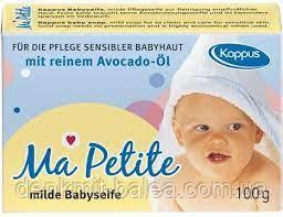 Мыло детское с маслом авокадо Ma Petite Babysaife 100 гр