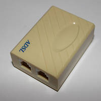 Cплиттер ADSL x2