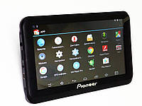 Автомобильный GPS навигатор 7 дюймов экран Планшет Pioneer A7002S - Видеорегистратор+ GPS+ 4Ядра+ 512MbRam+