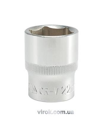 "Шестигранна Головка торцева YATO 1/2"" М22 х 38 мм, фото 2"