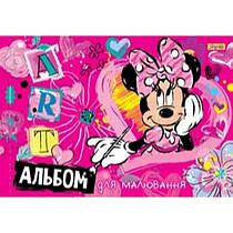 Альбом для рисования 12 листов для девочек 1 Сентября, Минни Маус (4823092240187)