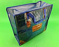 Сумка хозяйственная , полипропиленовая,  с цветным рисунком  №3 Джинс (10 шт)