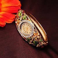 Женские часы браслет Bouquet стиль KORS Коричневые
