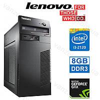 Lenovo M71e - Core i3-2120/ 8GB DDR3/ GTX750Ti 2GB/ 500GB Системный блок, Компьютер, Игровой ПК