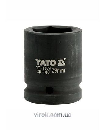 "Головка торцевая ударная шестигранная YATO 3/4"" М29 х 53 мм, фото 2"