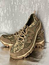 Кроссовки-ботинки летние камуфляжные Укр пиксель