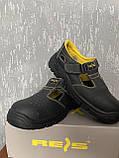 Спец взуття робоче з мет носком Reis, фото 4