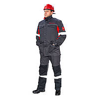 Костюм робочий куртка і брюки зі світловідбиваючими смугами (Метінвест)