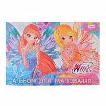 Альбом для рисования 12 листов для девочек 1 Сентября, Винкс (4823092240187)
