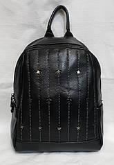 Стильный молодёжный  рюкзак из натуральной кожи. Кожаный женский рюкзак универсальный