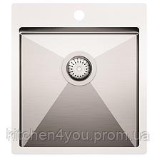 Кухонна мийка з нержавіючої сталі 450x505 мм. AquaSanita LUN100X