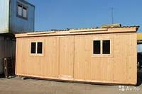 Строительство бытовок домов