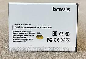 Оригинальная батарея Bravis A501 Bright