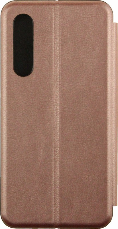 Чехол-книжка TOTO Book Rounded Leather Case Huawei P30 Rose Gold
