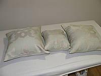 Комплект подушек  бледно салат 3шт, фото 1