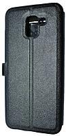 Чехол-книжка Book Cover Original Samsung J600 (J6-2018) Black with Window