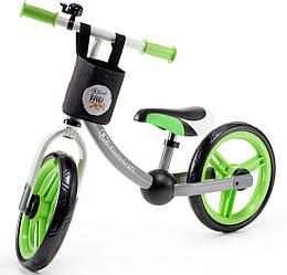 Беговел Kinderkraft 2Way Next  Green/Gray Велобег  Зеленый/серый KKR2WNXGRE00AC